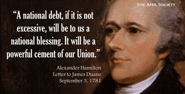 Alexander Hamilton Quotes National Debt and Credit Quotes Alexander Hamilton Quotes